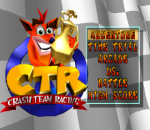 CTR - Crash Team Racing title screenshot