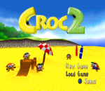 Croc 2 title screenshot