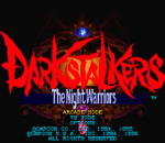 Darkstalkers - The Night Warriors title screenshot