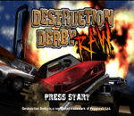 Destruction Derby Raw title screenshot
