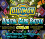Digimon Digital Card Battle title screenshot