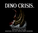 Dino Crisis title screenshot