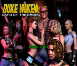 Duke Nukem - Land of the Babes title screenshot