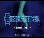 Einhander title screenshot
