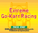 Extreme Go-Kart Racing title screenshot