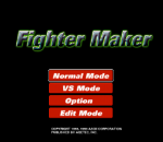 Fighter Maker title screenshot