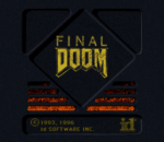Final Doom title screenshot