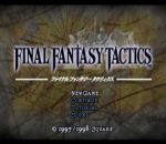 Final Fantasy Tactics title screenshot