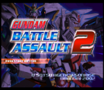 Gundam Battle Assault 2 title screenshot