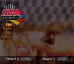 IHRA Drag Racing title screenshot