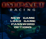 Impact Racing title screenshot