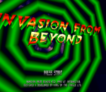 Invasion from Beyond title screenshot