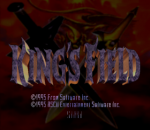King's Field title screenshot