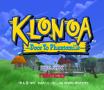 Klonoa - Door to Phantomile title screenshot