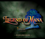 Legend of Mana title screenshot