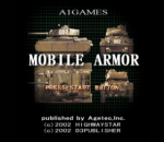 Mobile Armor title screenshot