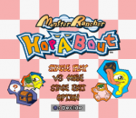 Monster Rancher Hop-A-Bout title screenshot