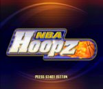 NBA Hoopz title screenshot