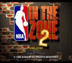 NBA in the Zone 2 title screenshot