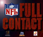 NFL Full Contact title screenshot