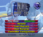 NHL Breakaway 98 title screenshot