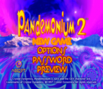 Pandemonium ! 2 title screenshot
