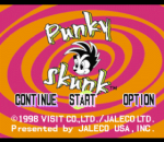 Punky Skunk title screenshot