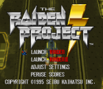 Raiden Project, The title screenshot
