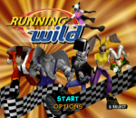 Running Wild title screenshot