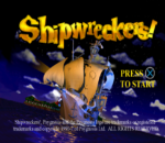 Shipwreckers ! title screenshot