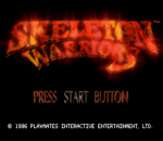Skeleton Warriors title screenshot