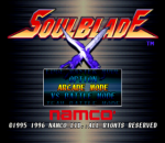Soul Blade title screenshot