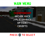 South Park Rally title screenshot