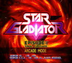 Star Gladiator - Episode 1 - Final Crusade title screenshot
