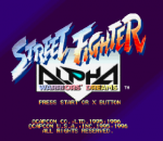Street Fighter Alpha - Warriors' Dreams title screenshot