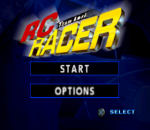 Team Losi RC Racer title screenshot