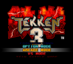 Tekken 3 title screenshot