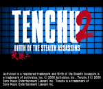 Tenchu 2 - Birth of the Stealth Assassins title screenshot