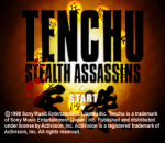 Tenchu - Stealth Assassins title screenshot