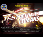 Test Drive Le Mans - Le Mans 24 Hours title screenshot