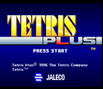 Tetris Plus title screenshot