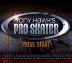 Tony Hawk's Pro Skater title screenshot