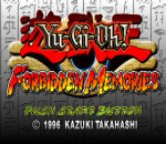 Yu-Gi-Oh ! Forbidden Memories title screenshot