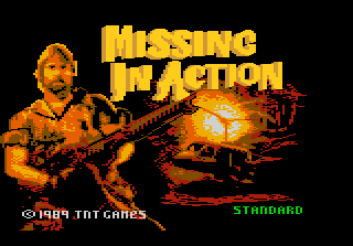 Missing In Action Title Screenshot  Missing In Action Poster