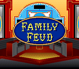 Family Feud Home Game Instructions